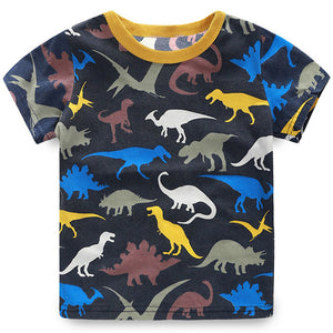 Dinosaur Love Black Shirt