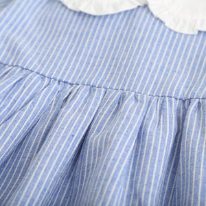 Bow Striped Summer Dress