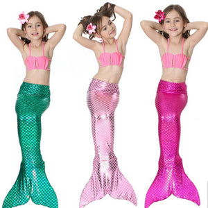 Mermaid Bikini Swimming