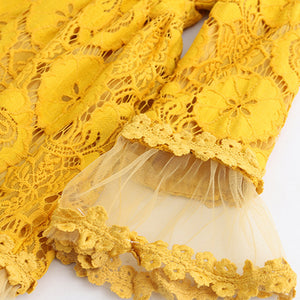 Lace Flower Yarn