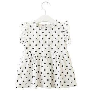 Spot Sleeveless Dress
