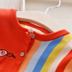 Flamingo Multi Color Sweater
