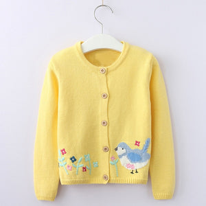 Animal Knit Cardigan