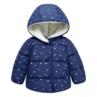 Lu Warm Hooded Coat