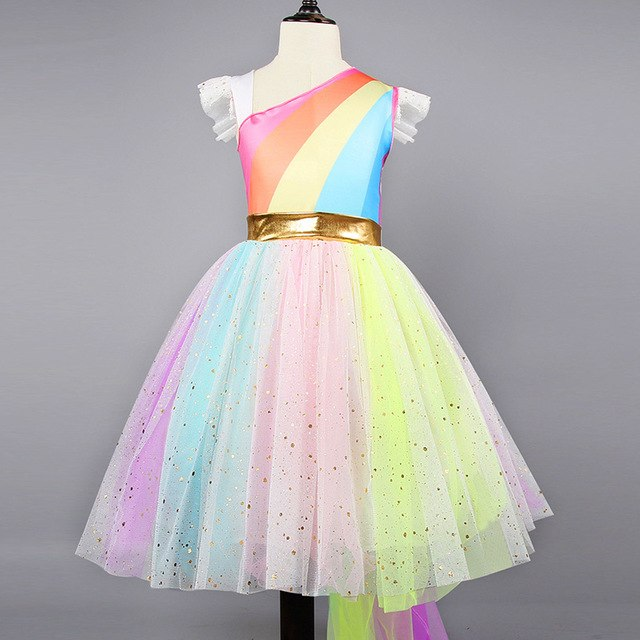 Kids Princess Mesh Dress
