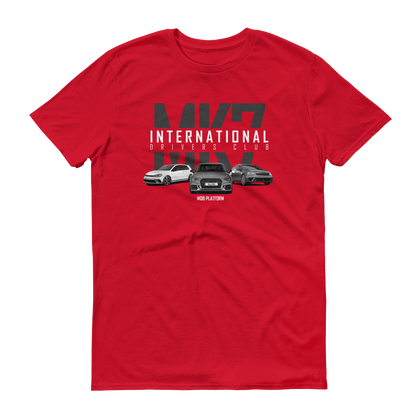 MK7/MQB International Drivers Club Official T-Shirt