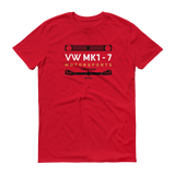 MK 1-7 Motorsports Club Official - T-Shirt