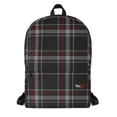 Mk6 Plaid Backpack