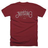 Leave Nothing Stock - Back Printed T-Shirt