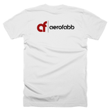 aerofabb Two-Sided White - T-Shirt