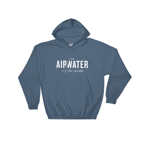 AIR/WATER - Hooded Sweatshirt