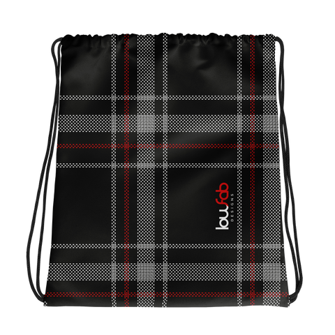 MK6 Plaid - Drawstring Bag