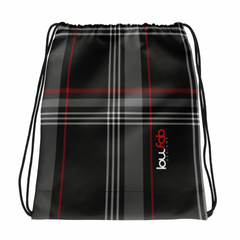 MK7 Plaid - Drawstring Bag