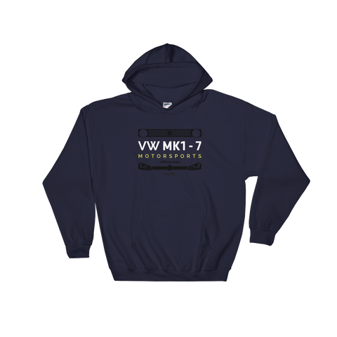 MK 1-7 Motorsports Club Official - Hooded Sweatshirt
