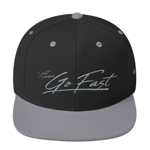 Go Fast - Snapback Hat