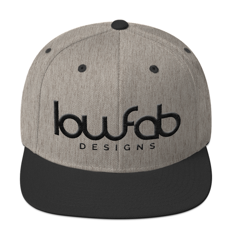 LowFab Designs - 3D Puff Heather - Snapback Hat