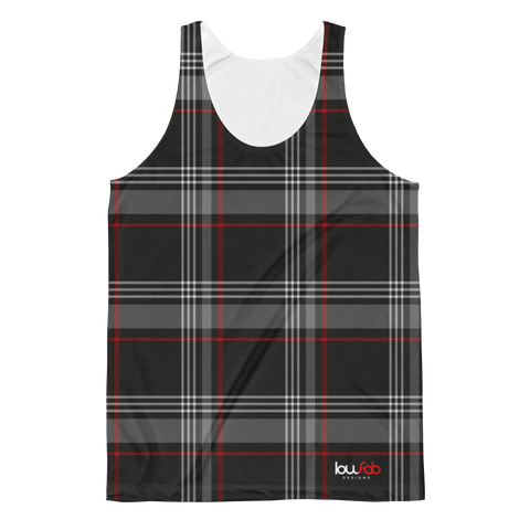 MK7 Plaid - Unisex Tank Top