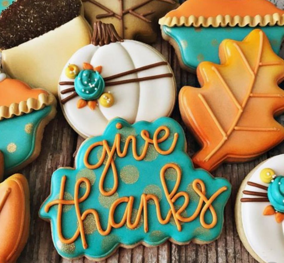 Cookie Decorating: Thanksgiving Theme