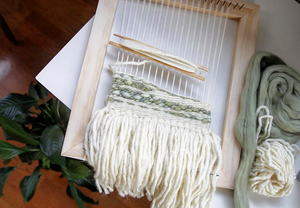 Weaving Basics: Create a Wall Hanging Woven Tapestry