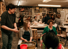 Intro to Pottery Wheel and Hand Building