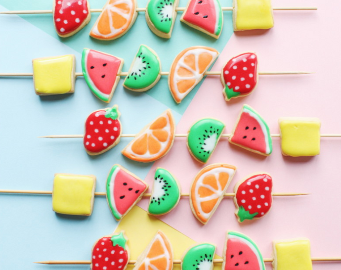 Cookie Decorating: Styles of Summer
