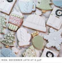 Cookie Decorating: Merry Everything!