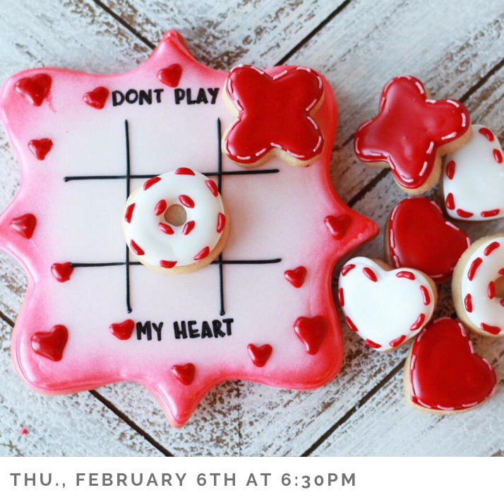 Cookie Decorating: All About the Valentines