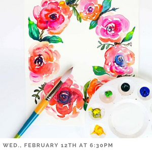 Floral Watercolor for Beginners
