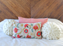 LEARN & TAKE: Hand Knit Accent Pillow
