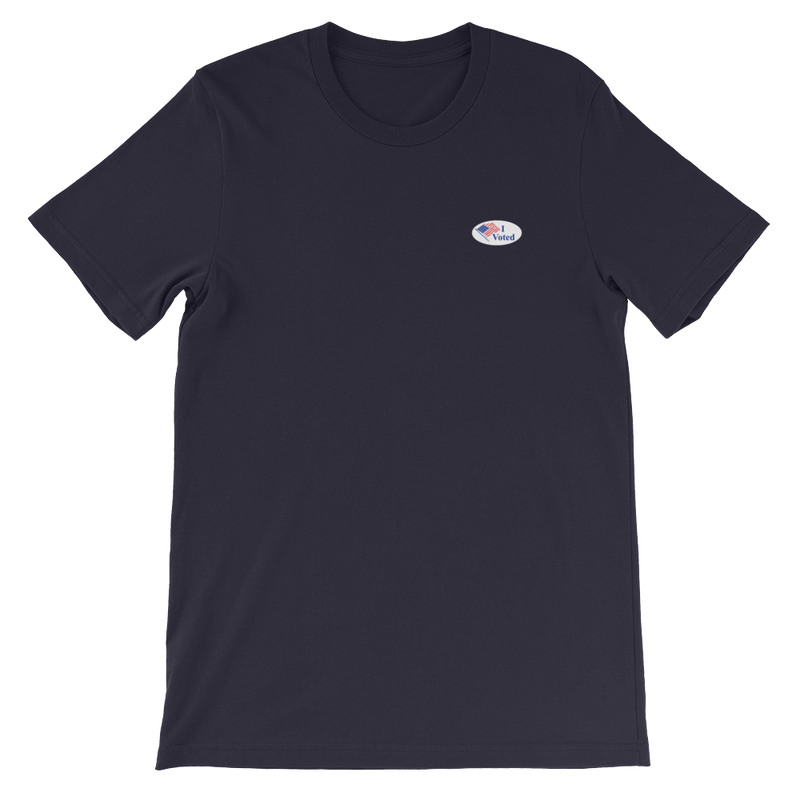 'I Voted' Sticker Unisex T-Shirt