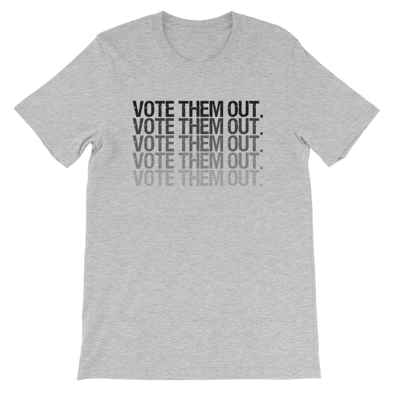 Vote Them Out Fade Short-Sleeve Unisex T-Shirt