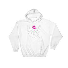 Kiss My Pink DBF Hooded Sweatshirt
