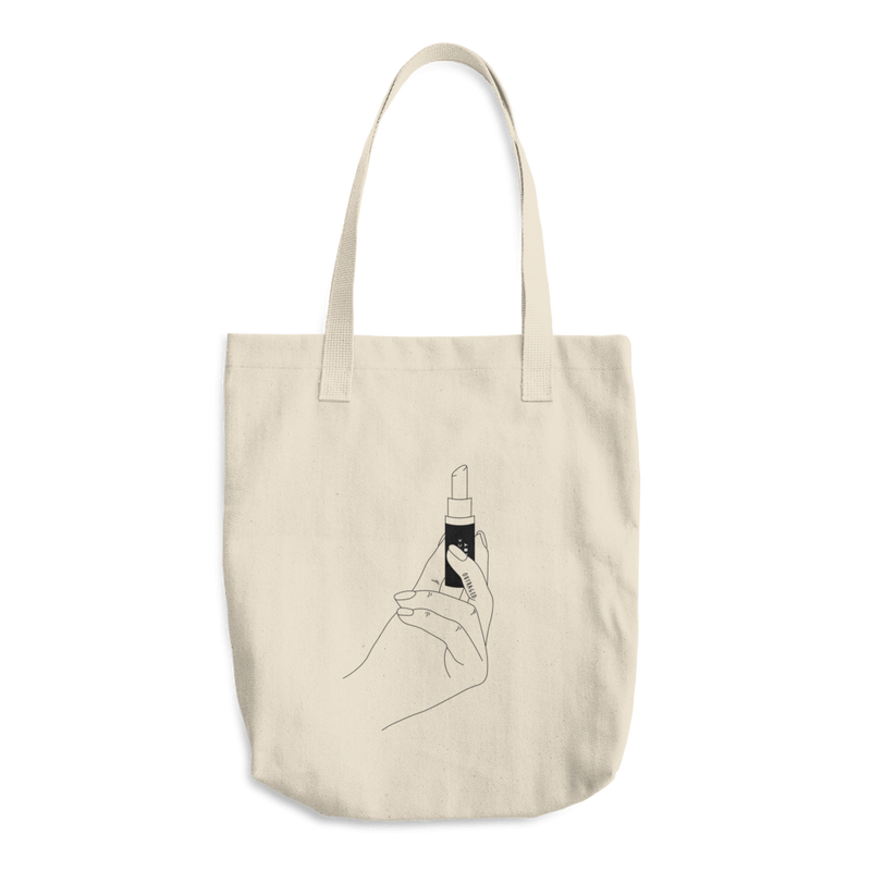 Strong Hand Cotton Tote Bag
