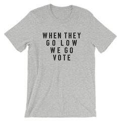 We March. We Vote. We Win. Short-Sleeve Unisex T-Shirt