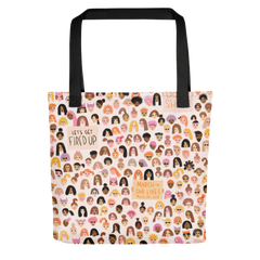 Lipstick It To The Man Tote Bag