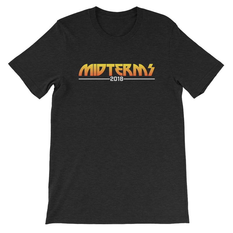 Midterms 2018 Tour Short-Sleeve Unisex T-Shirt