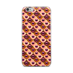 Lipstick Lobby Lips iPhone Case (Multiple Sizes)