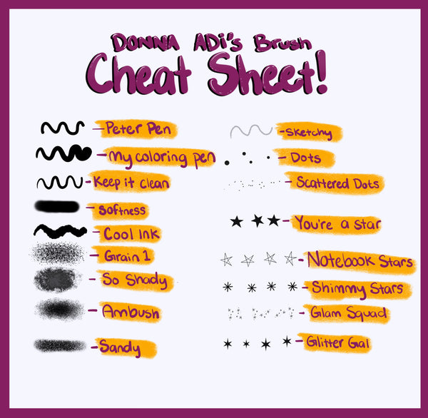 Donna Adi's Brush Set