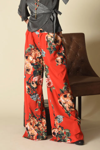 Blayze Wide-Leg Pants, Majestic Rose