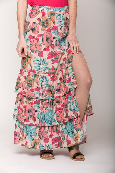Isabelle Tropical Floral Convertible Skirt