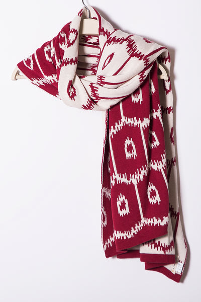 Frankie Shawl Shrug, Allover Geo Ikat