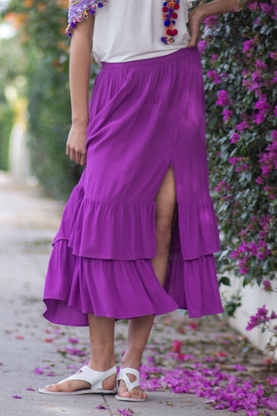 Isabelle Convertible Skirt-Dress, Purple