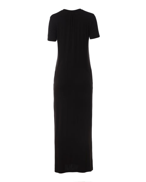 Madison Column Dress, Black