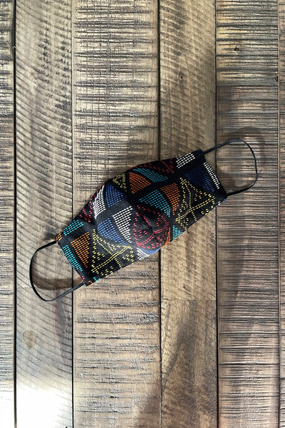Yakan Reusable Tribal Mask, 018 Multi II