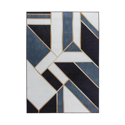 Metropolis Color Block Geometric Rug, Floor, BEL EPOQ