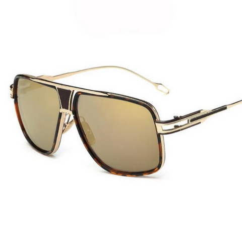 Cruz Geometric Square Aviator Sunglasses, Men's Accessories, BEL EPOQ