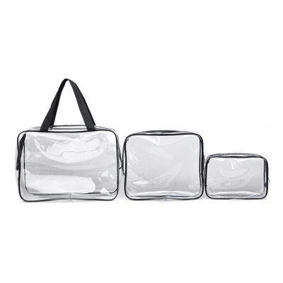 Cleo Transparent PVC Makeup Toiletry Bags, Beauty Accessories, BEL EPOQ