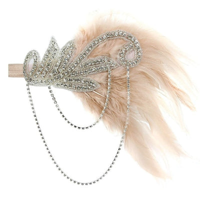 Lila Roaring '20s Flapper Headband, Women's Accessories, BEL EPOQ