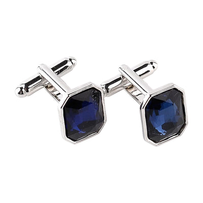 Javi Sapphire Look Cufflinks, Men's Jewellery, BEL EPOQ