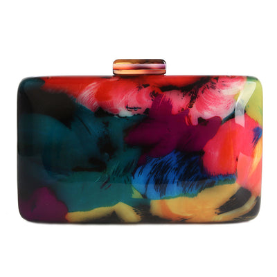 I Dream In Color Acrylic Clutch Shoulder Bag, Women's Bags, BEL EPOQ